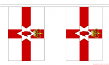 NORTHERN IRELAND BUNTING - 3 METRES 10 FLAGS
